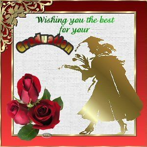 wishing you the best for your graduation