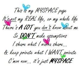 myspace quotes