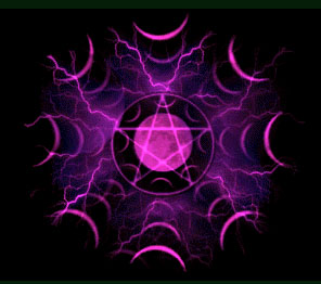 purple pentacle