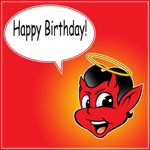 happy birthday devil