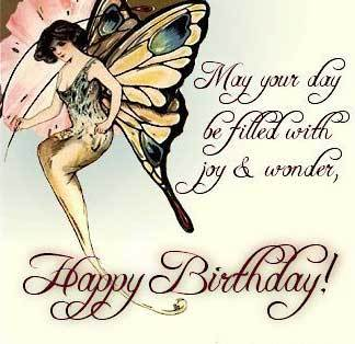 may your day be filled with joy and wonder happy birthday
