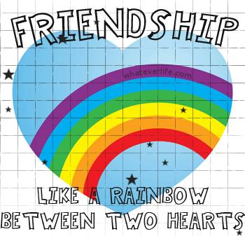 friendship rainbow