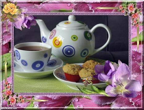 Tea and muffins