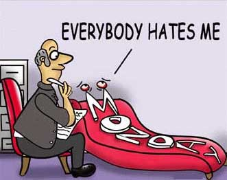 everybody hates me monday