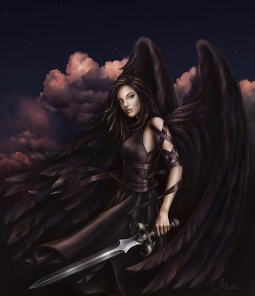 dark angel warrior