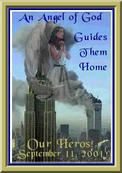 an angel of god guides them home
