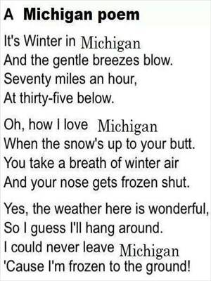 A Michigan Winter Poem