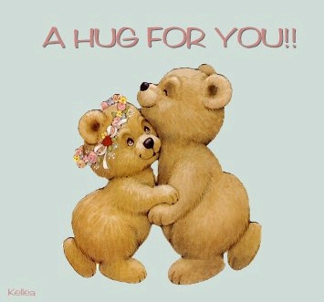 a hug for you teddy bears