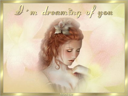 i'm dreaming of you