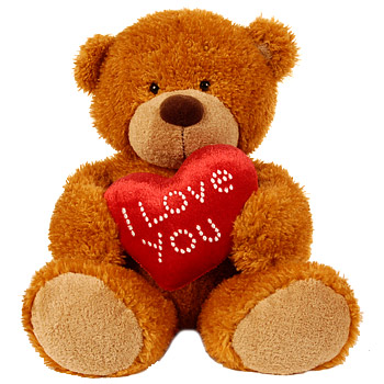 I love you - teddy bear