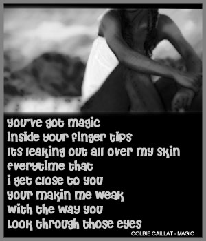 colbie calliat magic quotes