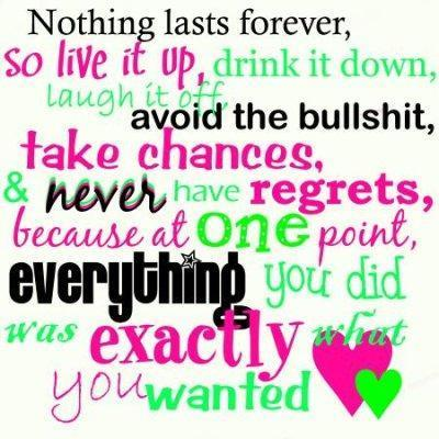 nothing lasts forever quotes