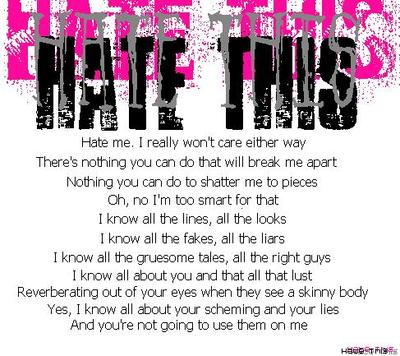 hate this quotes