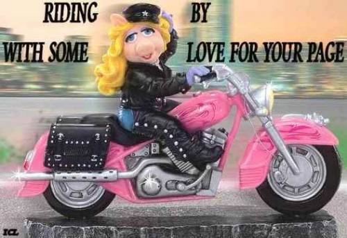 Riding by with some love for your page