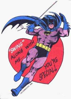 swing along with me you're special batman
