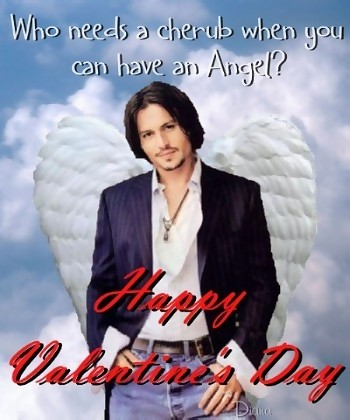 happy valentines day johnny depp the angel