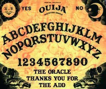 the oracle thanks you for the add ouija board