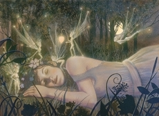 fairies on sleeping girl