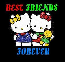 best friends forever hello kitty
