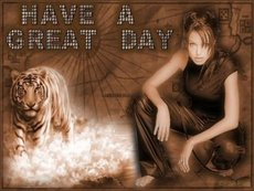 have a great day angelina jolie tiger