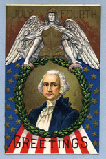 July 4th greetings - George Washington