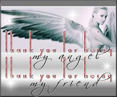thank you for being my angel